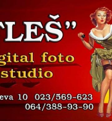 Digital foto studio Fles Zrenjanin