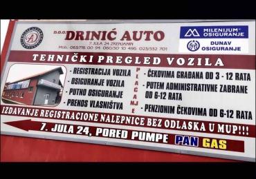 Drinic Auto – Tehnicki pregled vozila