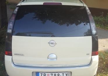 Opel Meriva 1.6 benzin-plin 2007god Zrenjanin